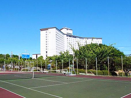テニスコートtennis court