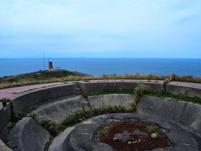 風車展望台と砲台跡