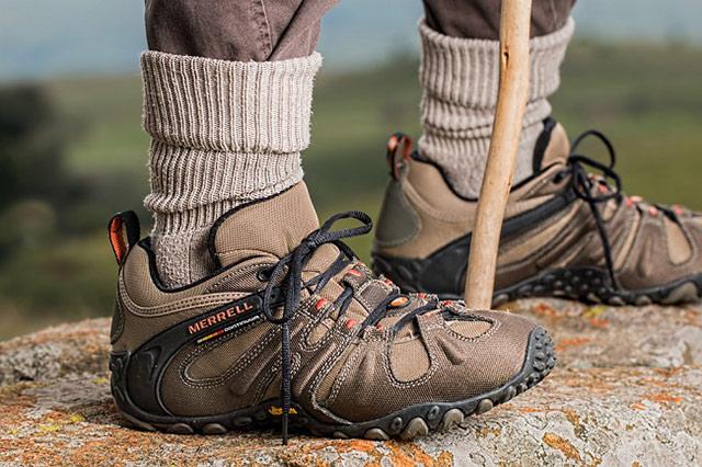 慎重な試し履きが大切! 霧島連山の登山靴の選び方