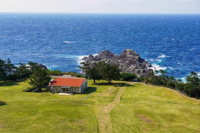 潮岬観光タワーからの眺め