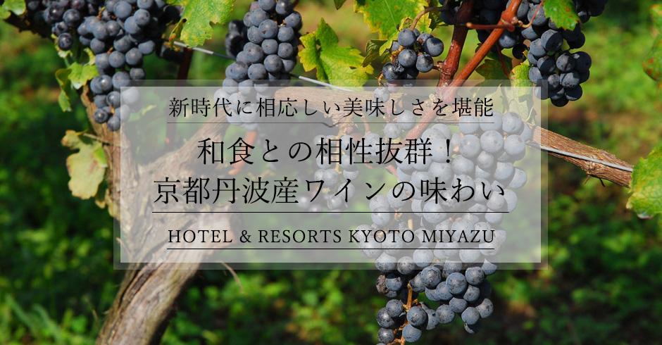 新時代に相応しい美しいワイン!京都丹波産サステイナブルワインの味わいを堪能しませんか