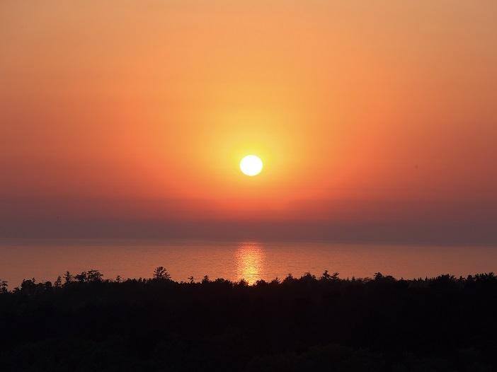 日本の夕陽百選の宿