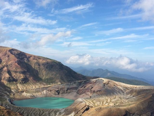 お釜噴火口の魅力