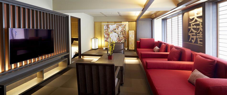 ジャパニーズスイートTENSHU、ジャパニーズスイート(23階)