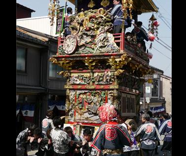 越中八尾曳山祭りイメージ