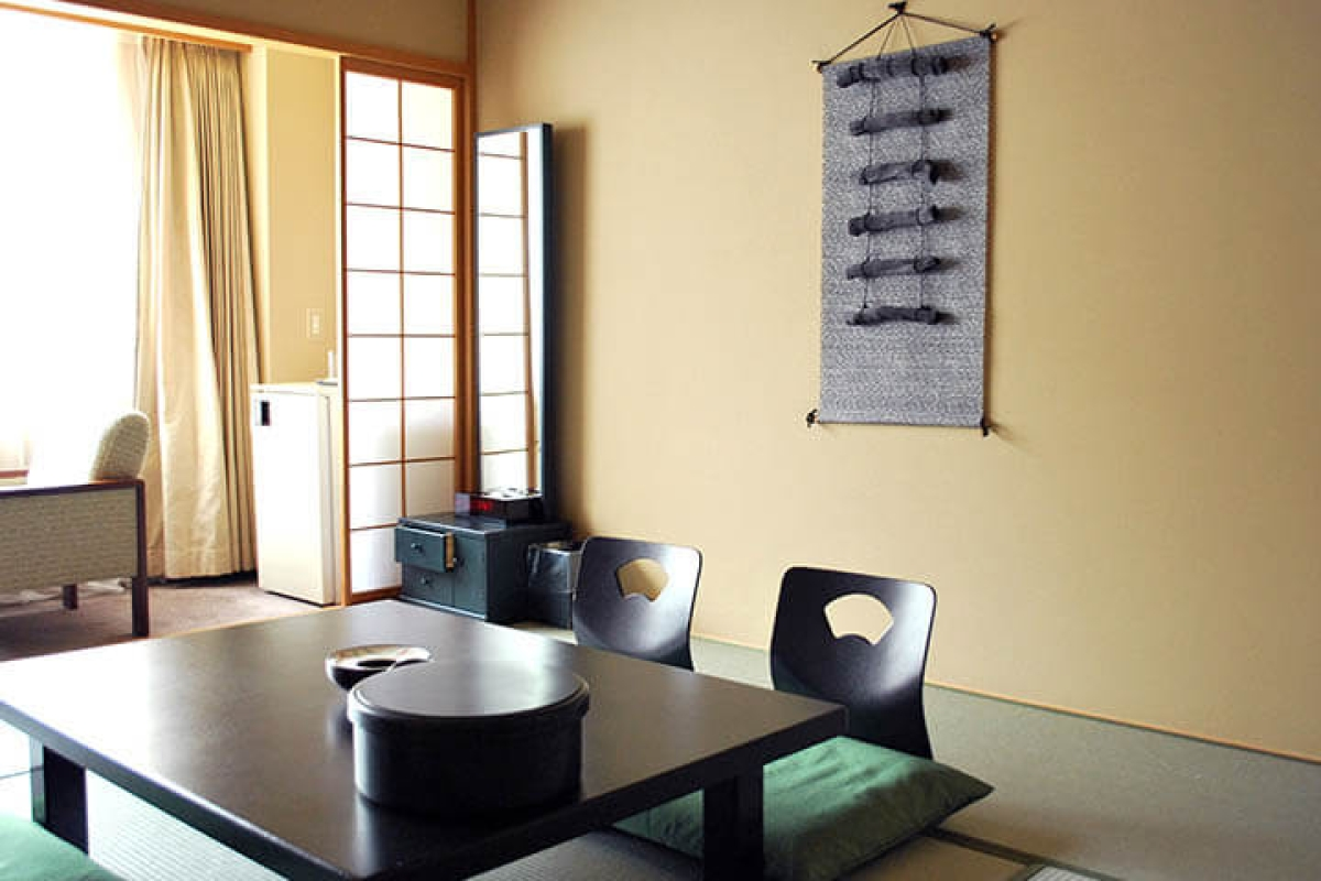 Charcoal Japanese Style Room